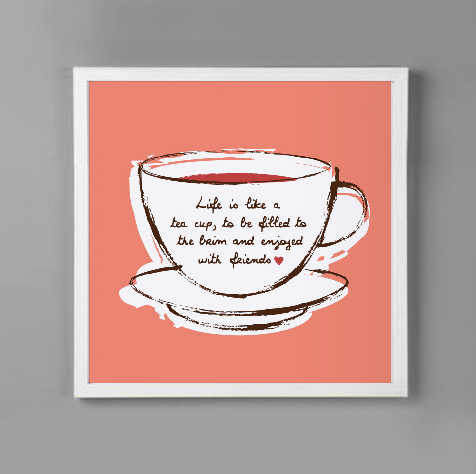 Quotes About Tea And Friendship Sher's Bloggg. Quotes Of The Day