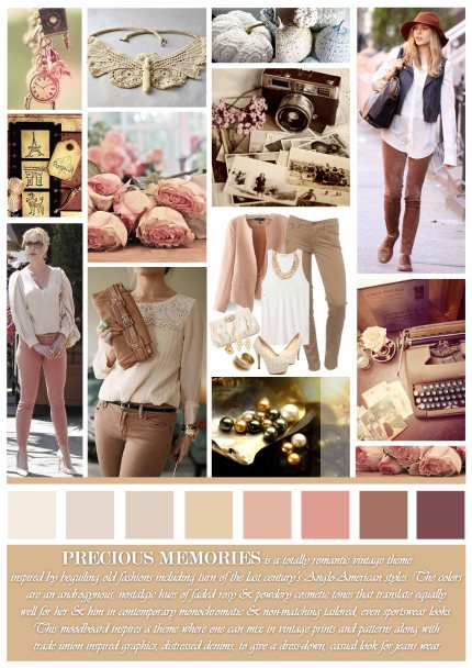 Moodboards for A/W 2013-14