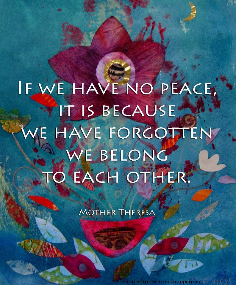 Quotes About World Peace Day: Sher's Other Blog
